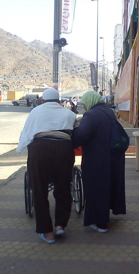 Oum Soumeyya © Le couple en question. Qu'Allah les protège!