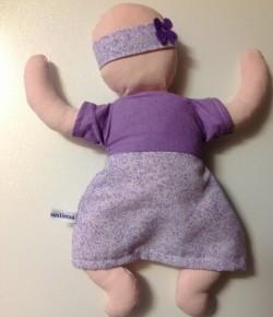 La poupée de ma princesse commandée chez Doudou Mouslimou http://sarah-s19.wix.com/doudousmouslimous