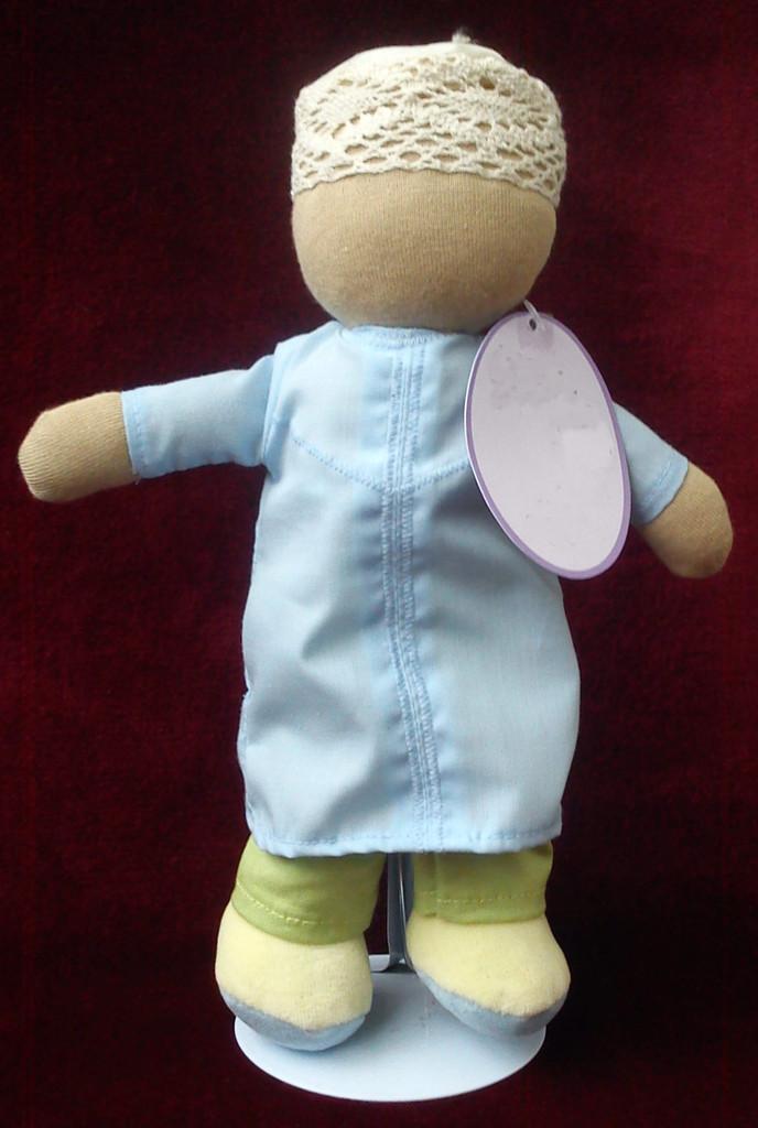 doudou bebe sans visage