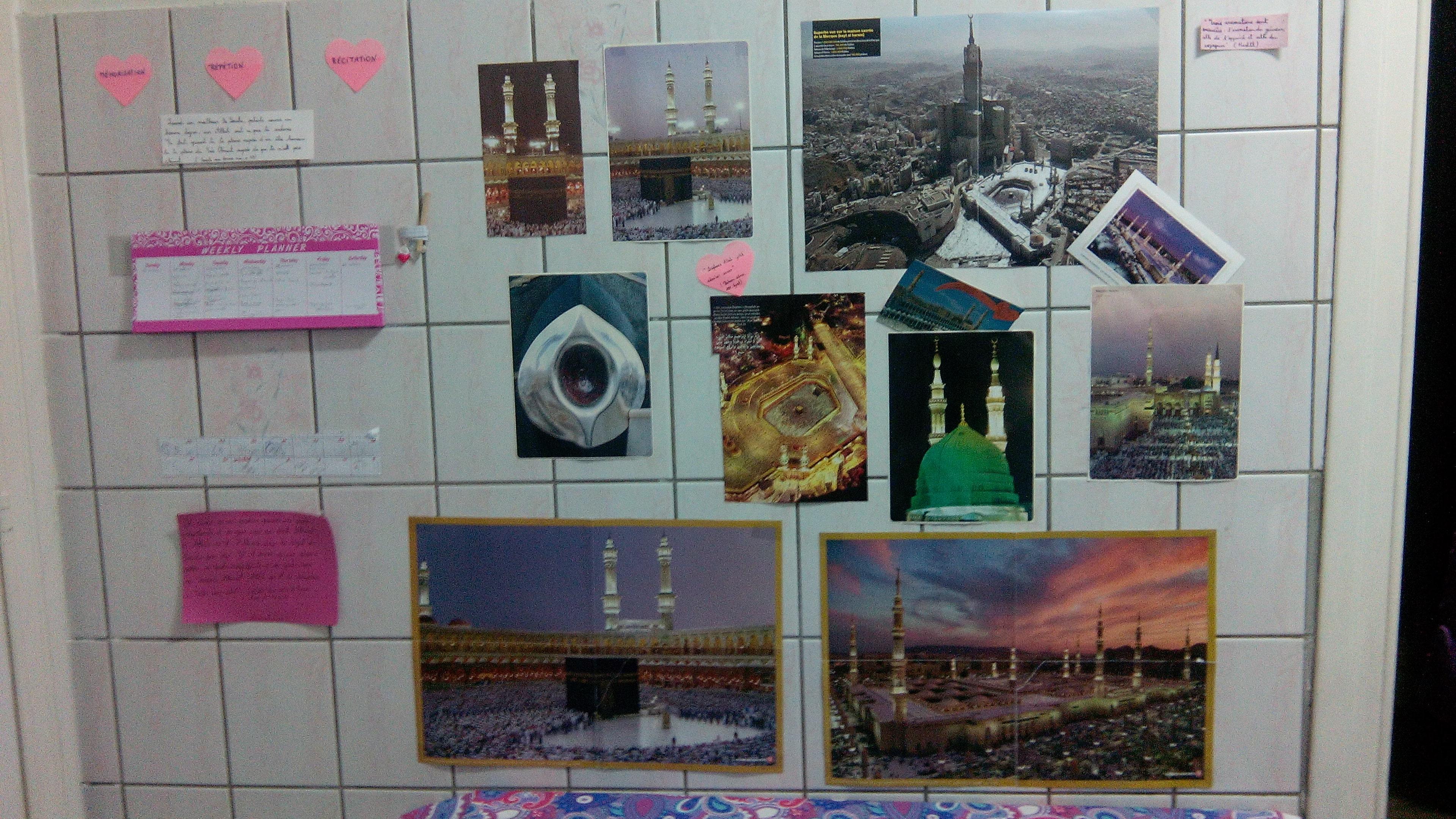 Les murs de la cuisine d'Oum Soumeyya ©